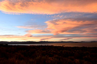 Pastel Sunset on Mono Lake