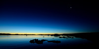 Moonset over Mono Lake