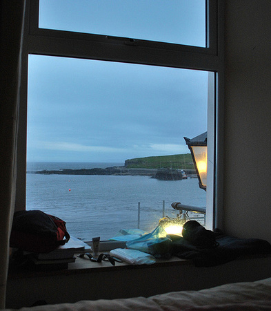 View from my room at the Lighthouse Inn